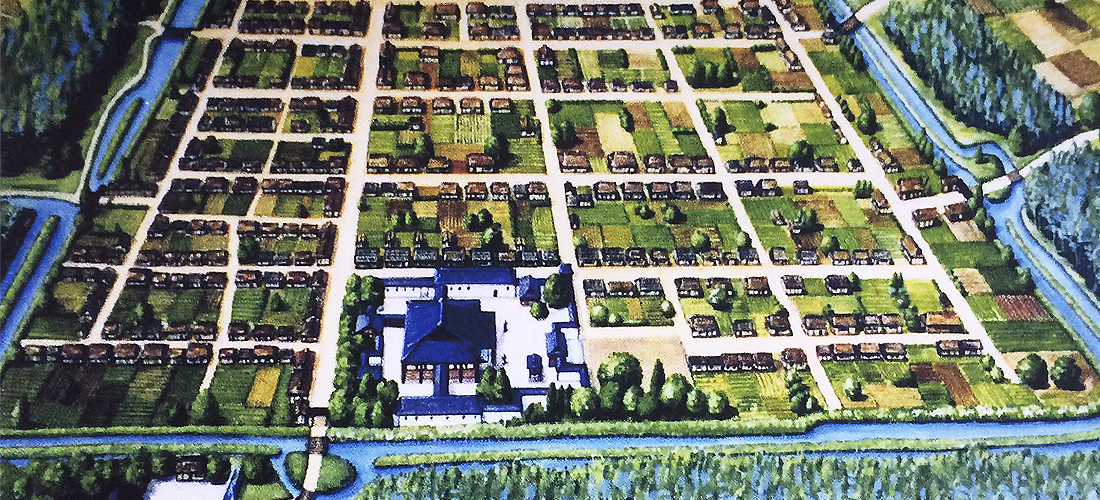 久宝寺寺内町の繁栄