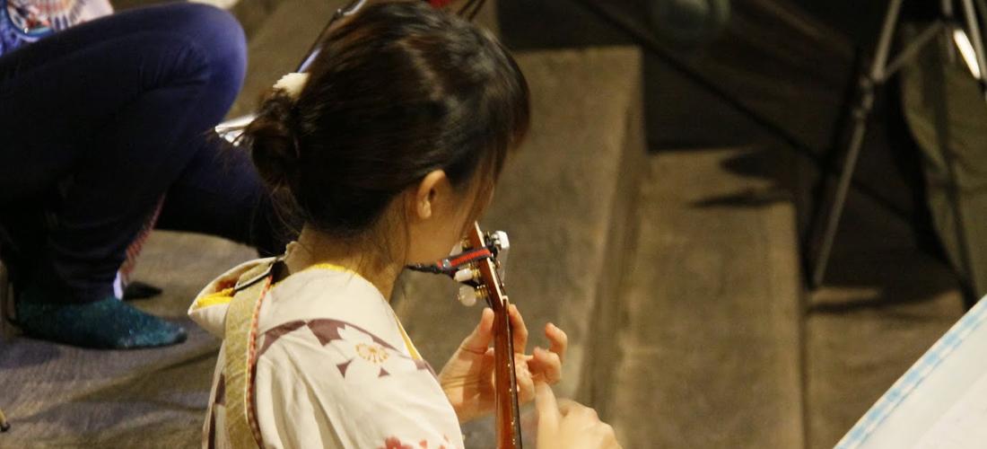 顕証寺本堂前コンサート