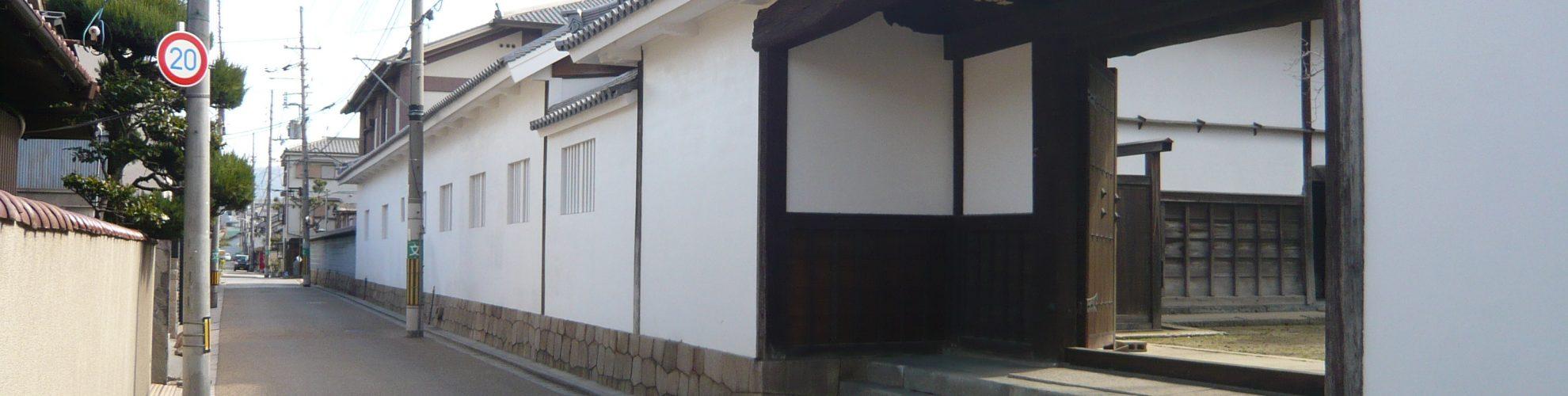 顕証寺 白壁