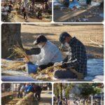 12/6 許麻神社の「しめ縄作り」