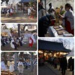 2/3 許麻神社「神火焼納祭・節分祭」が実施されました