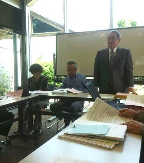 NPO法人寺内町久宝寺の28年度の総会を開催しまし…