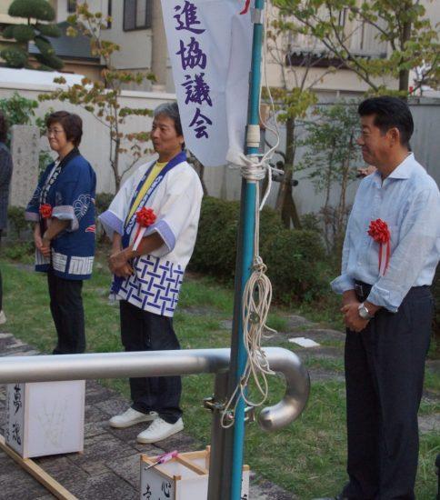 9月11日に久宝寺寺内町燈路まつりが開催されました…