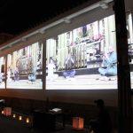 第9回久宝寺寺内町燈路まつりが開催されました。