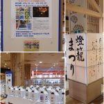 「紙燈ろう展」がアリオ八尾で開催されています。2019.8.31~9.16