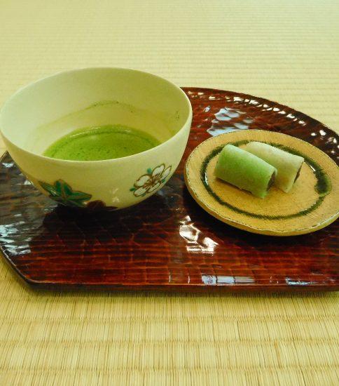「お抹茶と和菓子」の体験イベントをします(10/2…