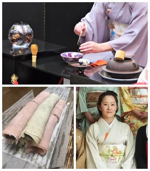 """祝""""成人の日""""「お抹茶と和菓子」の体験イベントをし…"""